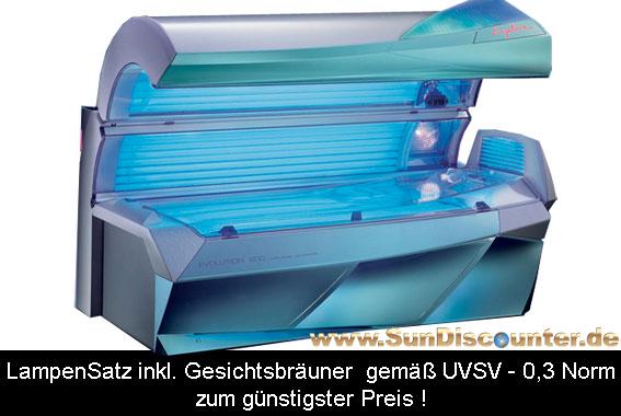 Solariumersatzröhren Paket Passend Für Ergoline Evolution 600 Turbo